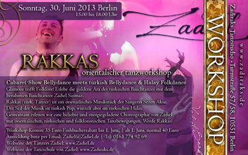 ORIENTAL DVD WORKSHOP | MIT ZADIEL IN BERLIN!!