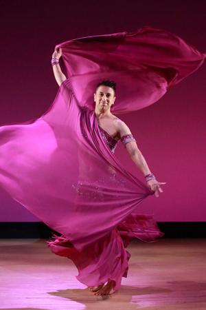 Zadiel Orientalny Tancerz Brzucha!